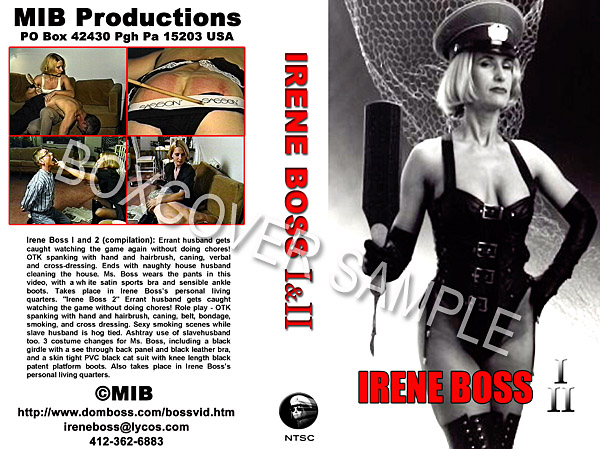 We manufacture the finet extreme FemDom DVDs on the planet! Featuring famous world class Mistresses! Irene Boss is the most popular Dominatrix on Yahoo!